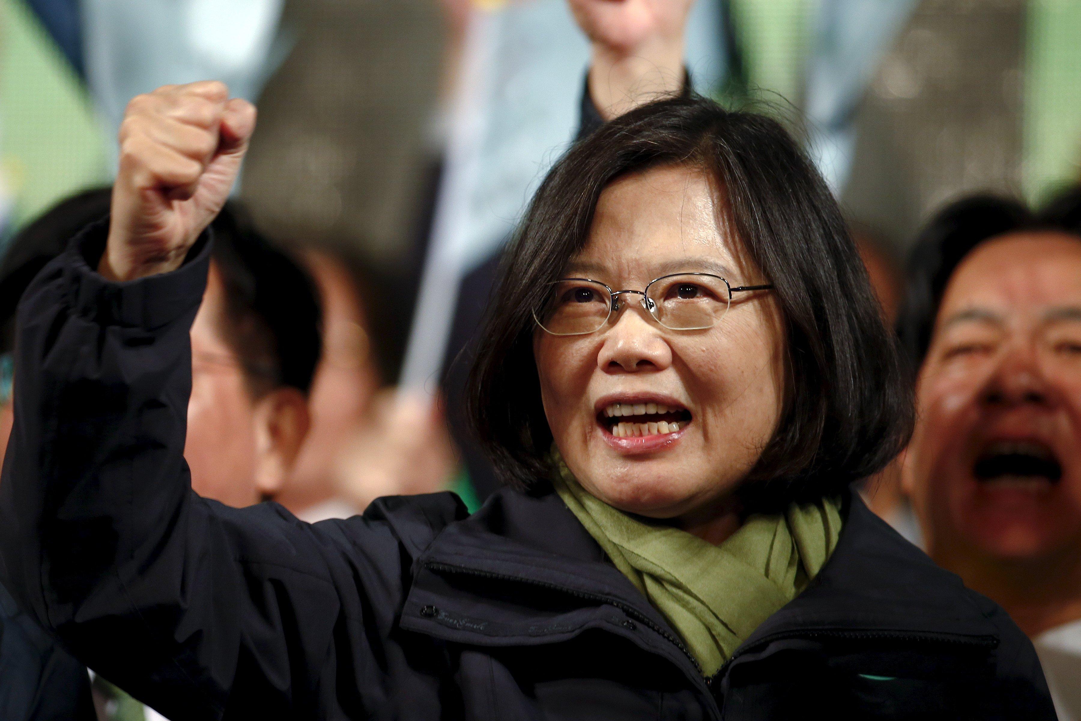 tsai ing wen reuters
