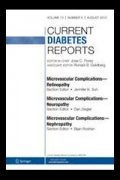 Cover of Current Diabetes Reports