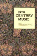 Image of 19th Century Music Journal