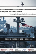 "Cover for the conference proceedings ""Assessing the Effectiveness of Alliance Responses to Regional and Global Threats"""