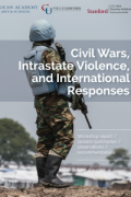 Cover image of workshop report. In Bentiu, South Sudan, a UN integrated patrol unit carries out the Protection of Civilians mandate through night patrols, cordon and search, and riot management.