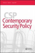 Contemporary Security Policy journal
