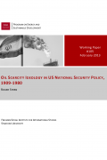 cover wp 105 stern oil scarcity ideology 08 february 2013