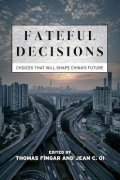 Fateful Decisions: Choices That Will Shape China's Future book cover