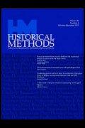 Historical Methods journal image