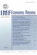 imf economic review cover