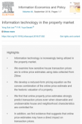 information technology in the property market