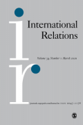 International Relations Journal cover