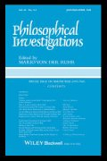 Journal of Philosophical Investigations