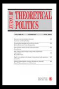 Image of the cover of Journal of Theoretical Politics.
