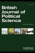 British Journal politicalScience feb2013