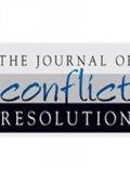 Journal of Conflict Resolution whitebackground
