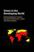 states in the developing world cover