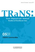 trans  trans regional and  national studies of southeast asia