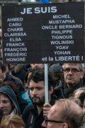 Image of Demonstrators at the Place de Republique