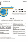 World Development cover image