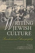 Writing Jewish Culture book cover image