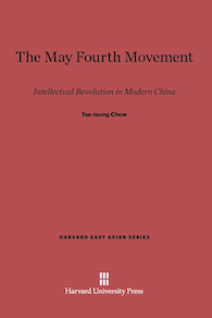 Cover of the book The May Fourth Movement.