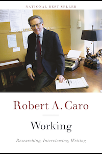 Cover of the book Working, by Robert Caro
