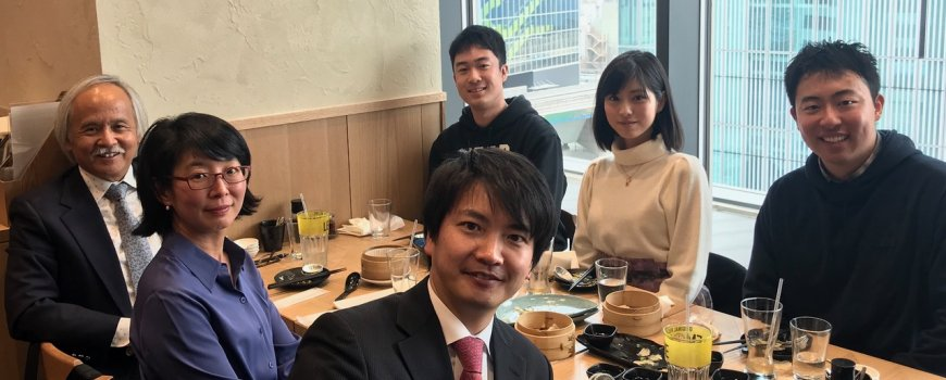 SPICE lunch with Stanford e-Japan alumni