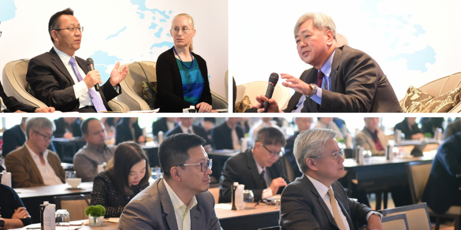 Participants at a panel discussion with APARC delegation hosted by the C.P. Group, Thailand