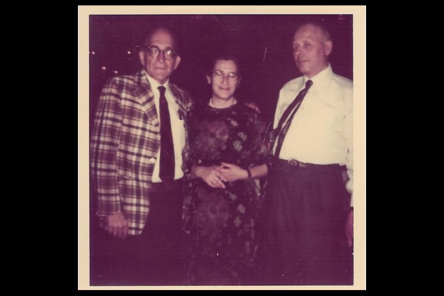 Drell, Yelena Bonner, and Sakharov, c.1976