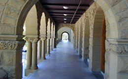 Encina Hall arches