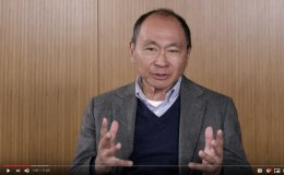Scholars Corner video featuring Francis Fukuyama discussing identity politics