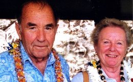 Houghton and Doreen Freeman. Courtesy: Graeme Freeman