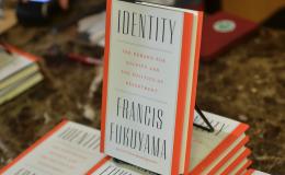 """Identity"" hardcover book by Francis Fukuyama"