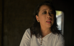 "Khatharya Um in the documentary film ""My Cambodia"""