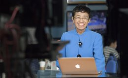 Portrait of Maria Ressa
