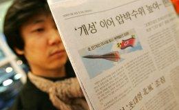 north korea missile newspaper