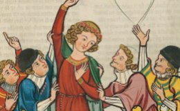 Illustration is taken from the Codex Manesse