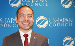 Rylan Sekiguchi at the 2017 U.S.-Japan Council conference
