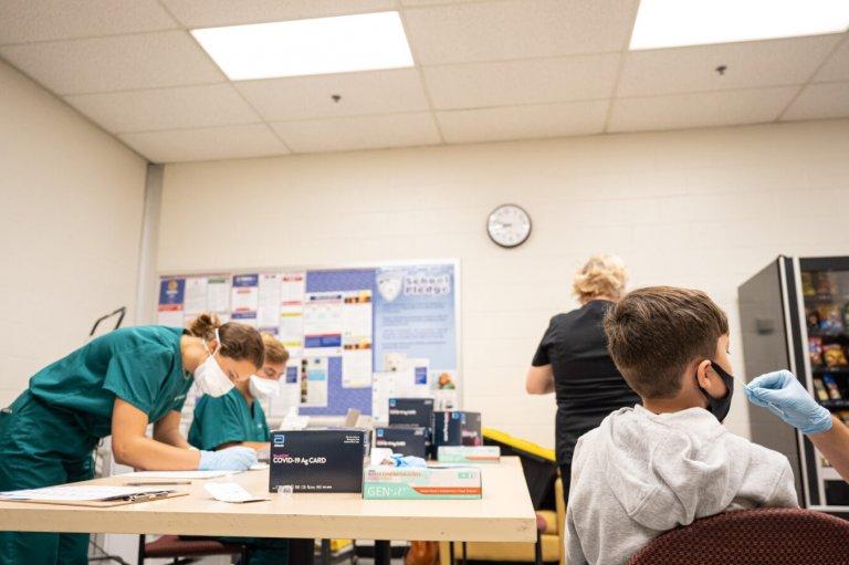 COVID testing in schools