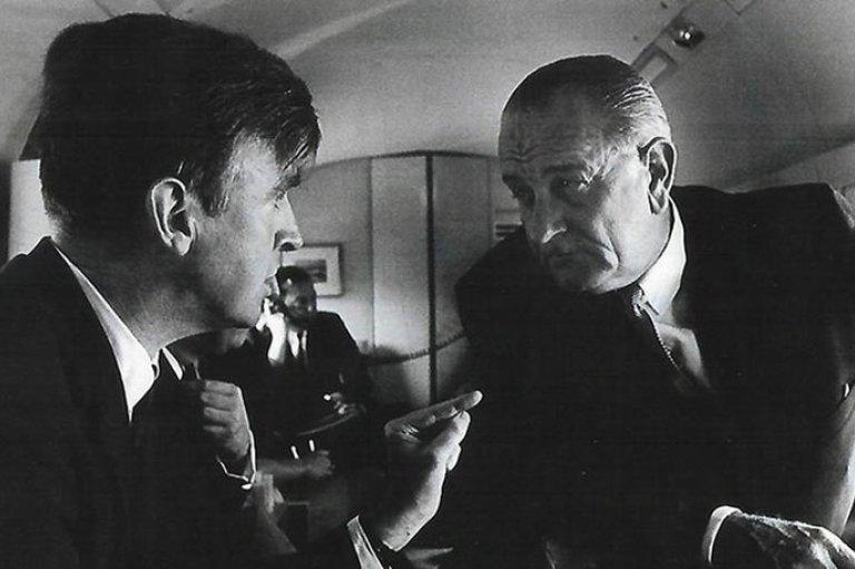 Dr. Philip Lee with President Lyndon B. Johnson
