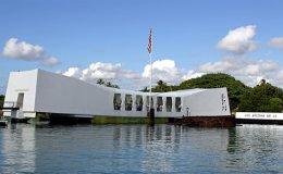 Arizona Memorial at Pearl Harbor