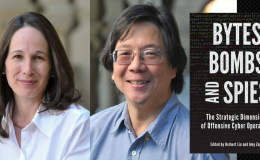 Byter, Bombs, and Spies  - new book by Amy Zegart and Herb Lin