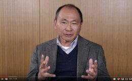 Scholars Corner video featuring Francis Fukuyama discussing identity politics