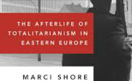 "Book cover of Marci Shore's publication ""Taste of Ashes: The Afterlife of Totalitarianism in Eastern Europe"""