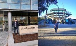 """Stanford e-Japan alumni Jun Yamasaki and Hanako """"Hannah"""" Tauchi"""