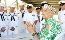 Sterling Cale, U.S. Navy veteran and Pearl Harbor survivor