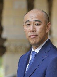 Portrait of Takeo Hoshi