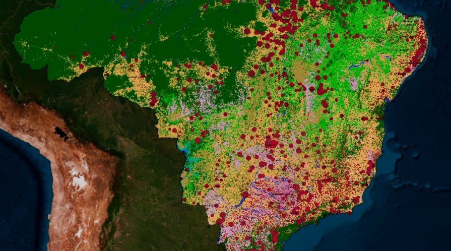 Brazil hotspots