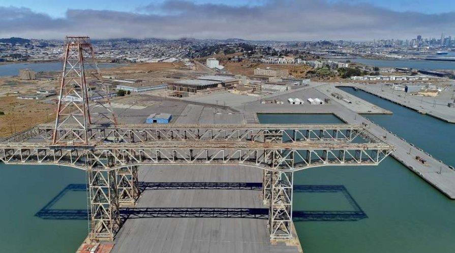 Photo of partial bridge
