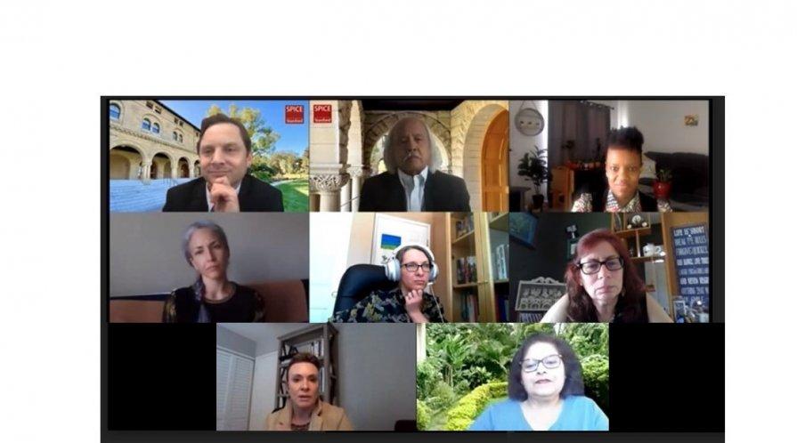 Zoom screenshots of EPIC fellows