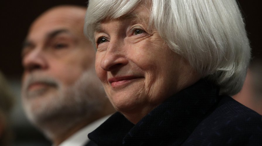 Former Federal Reserve Chair Janet Yellen
