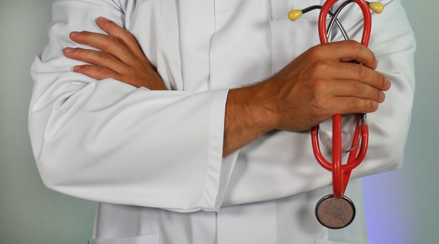 Stock photo of a physician