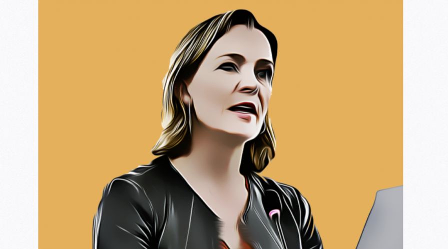 illustration of Marietje Schaake
